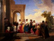 'The Procession to the Christening in L&...