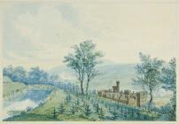 'Cyfarthfa Castle and the balance ponds&...