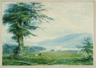 'View from Gwaelod-y-Garth' by Penry...