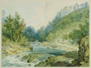 'Cwmtaff above cemetery', by Penry...