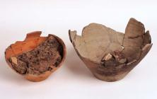Roman cremation urns, Abergavenny