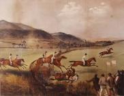 'Steeplechase at Abergavenny', 1853