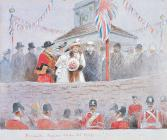 'The Naval Temple with Lady Llangattock&...
