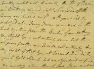 Letter from Nelson to his uncle in which he...
