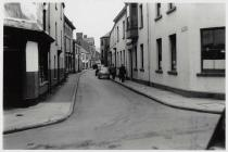 View of the High Street, Neath, 1958 (prior to...