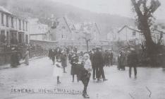 Edwardsville, after the tornado, 1913