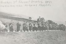 Quaker's Yard Truant School on a camping...