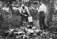 Gwneud clocsiau yn Ystradfellte, 1920-3