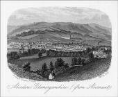 Aberdare from Abernant, 14 February 1865