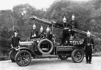 Aberdare Fire Brigade, early 20th century