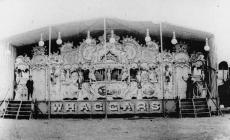 William Haggar's showfront, c. 1908