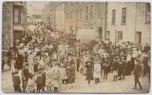 Narberth carnival procession, 1910