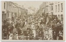 High Street, Narberth Carnival, 1907