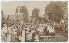 Castle mound, Narberth Carnival, 1907
