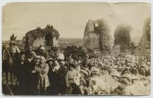 Castle grounds, Narberth carnival, 1908