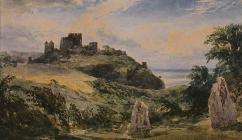 Watercolour of unidentified castle by Joseph...