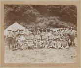 Scoutmasters at Glanusk Park, 1910
