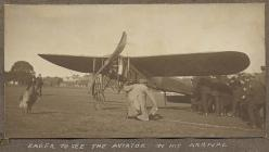 The first aeroplane flights at Llanelli, May 1912