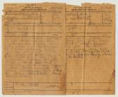 Two field messages sent to the 1st Battalion of...