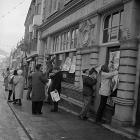 Protest gyntaf Cymdeithas yr Iaith Gymraeg