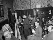 Soirée at Llewenni, 13 February 1953