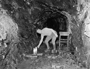 Gwynfynydd Goldworks near Ganllwyd, 1 October 1956