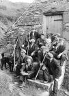Chaffing Party at Tymawr, Islawdre, with John P...