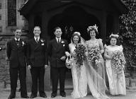 A wedding at Llandysilio, 21 June 1950