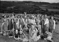 Dolgellau folk festival, 25 July 1952