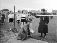 The Welsh Youth Sports held at Tywyn, 1 July 1954