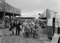 May-day Fair (Ffair Glamai) at Bala, May 1952