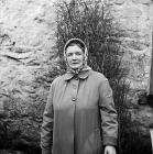 Un o drigolion Capel Celyn (Tryweryn), 1961
