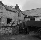 Moving out of Garnedd Llwyd, Ciltalgarth, Capel...