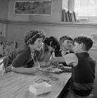 The last days of Capel Celyn School, October 1962