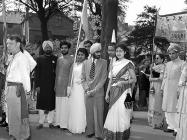 Cynrychiolwyr o'r India a Phacistan ym Mhasiant...