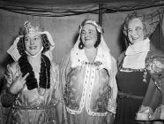 Women in fancy dress at the Llandaff Pageant,...