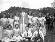 Proclamation ceremony of the Powys Eisteddfod,...