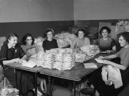 Women workers at the Berlei Bra Factory, Ebbw...