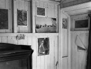 Inside Dylan Thomas's Boathouse, Laugharne...
