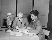 Radio broadcast of the first Welsh-language...