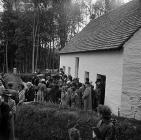 Opening ceremony of Pen-rhiw Chapel at the...