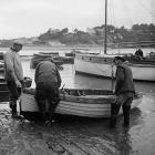 Lobster fishing at Aber-soch, 5 July 1956