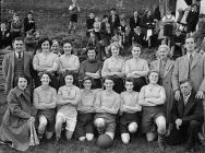Treharris ladies' football team, 14...