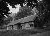Stryd Lydan barn, Welsh Folk Museum, 1 June 1951