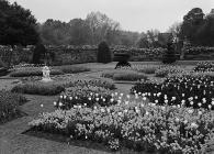 The gardens at St. Fagans Castle, Welsh Folk...