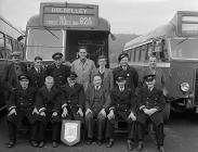 Winners of the Crosville bus company shield,...