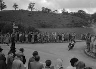 International motorcycle trials at Builth Wells...