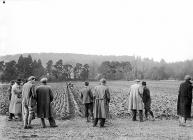 Ploughing Match at Builth Wells, 1 February 1953