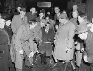 Wilfred Pickles' visit to Rhayader on St....