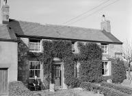 House in the village of Bwlch-gwyn which was...